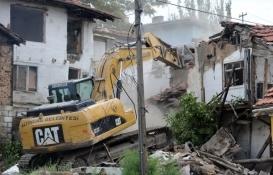 Ankara Altındağ'daki 50 metruk bina yıkıldı!