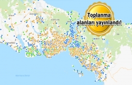 İstanbul'da toplanma ve geçici barınma alanları belirlendi!