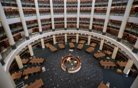 Cumhurbaşkanlığı Millet Kütüphanesi perşembe günü açılıyor!