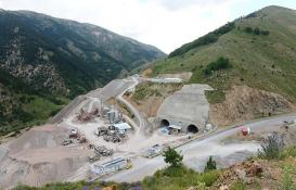 Eğribel Tüneli için son 140 metre!