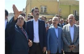 Murat Kurum Mardin'deki dönüşüm mağdurlarıyla görüştü!