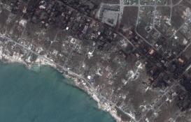 Bahamalar'da yıkım uydudan görüntülendi!