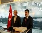 İstanbul Valisi Vasip Şahin, Kadir Topbaş'ı tebrik etti!