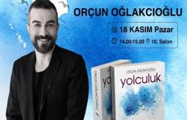 """Orçun Oğlakcıoğlu, """"Yolculuk"""" kitabını imzalıyor!"""