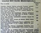 1935 yılında Galata Ayazma Sokak'ta kagir bir ev ve dükkan 1.640 liraya satılacakmış!