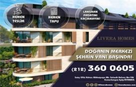 Livera Homes Kemerburgaz'da özel indirim fırsatları!