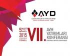 VII. AVM Yatırımları Konferansı 5 Mart'ta!