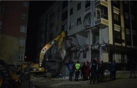 Bahçelievler'de çöken binanın çevresinde güvenlik önlemleri alındı!