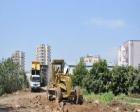 Mersin Erdemli'de yeni yol açma çalışmaları başladı!