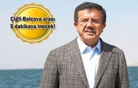 İzmir'de deniz ve