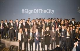 Gayrimenkulün yıldızları Sign of the City Awards'ta ödüllendirildi!