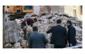 Mardin Merkez Çarşı Camii tekrar inşa edilmek üzere yıkıldı!