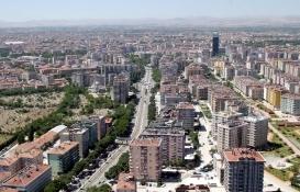 Konya'da Mayıs ayında bin 250 konut satıldı!