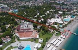 5 yıldızlı Simena Hotel'in sahilde adil paylaşım isyanı!