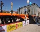 Türkiye Demiryolu Makinaları en hafif yük taşıma vagonunu tanıttı!