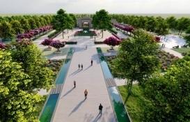 Şanlıurfa Eyyübiye Millet Bahçesi ile nefes alacak!