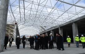 Isparta Şehirlerarası Terminal'in kaba inşaatı bitti!