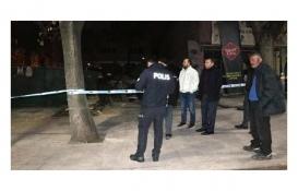 Ankara Yenimahalle'de iş yerinin zemini çöktü!