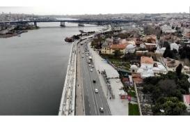 Eminönü-Alibeyköy Tramvay inşaatının bir kısmı çöktü!
