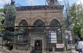 Bursa'da 597 yıllık caminin restorasyonu durduruldu!