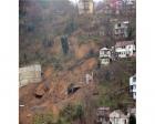 Zonguldak'ta yurt inşaatının duvarı çöktü!
