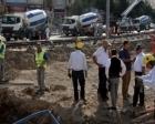 Denizli'de temel inşaatında doğalgaz sızıntısı!