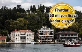 Boğaz'da 62 yalı ve 27 yalı dairesi yeni sahiplerini bekliyor!