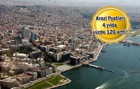 İzmir'in köylerinde arsa fiyatları uçtu!