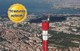 Küçük Çamlıca TV-Radyo Kulesi inşaatında sona gelindi!