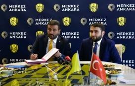 Merkez Ankara'dan MKE Ankaragücü'ne sponsorluk desteği!