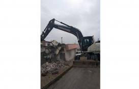 Samsun'daki metruk binalar yıkılıyor!