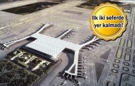 İstanbul Yeni Havalimanı'nda ilk sefer yoğunluğu!