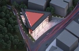 Çekmeköy Alparslan Türkeş Kültür Merkezi'nin inşaatı yükseliyor!