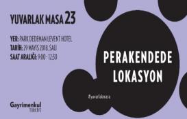 23. Gayrimenkul Türkiye Yuvarlak Masa Toplantısı yarın!