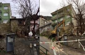 Osmangazi'deki metruk binalar tek tek yıkılıyor!
