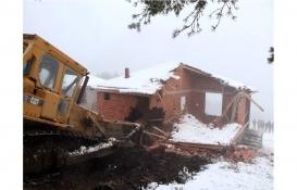 Samsun'daki 26 kaçak yapı yıkıldı!