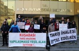 Aydın Büyükşehir Belediyesi'nin kamulaştırdığı alanı yapılaşmaya açacağı iddiası!