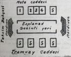 1940 yılında Taksim Meydanı ve civarının alacağı şekil!