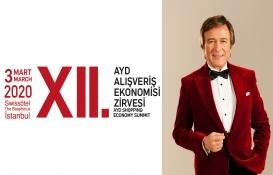Erol Evgin, unutulmaz şarkılarıyla XII. AYD Alışveriş Ekonomisi Zirvesi'nde!