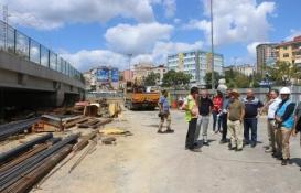 Marmaray'daki alt geçit çalışmaları tam gaz!
