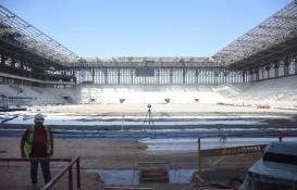 Göztepe Stadı tamamlanıyor!