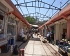 Şanlıurfa Siverek'in çarşılarında üst yapı çalışması başladı!
